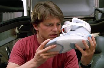 Nike Air Mag di Ritorno al Futuro 2