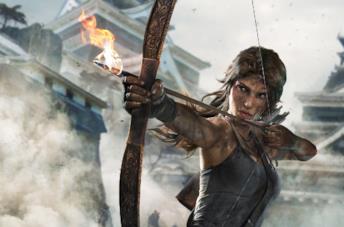 Lara Croft nel reboot di Tomb Raider
