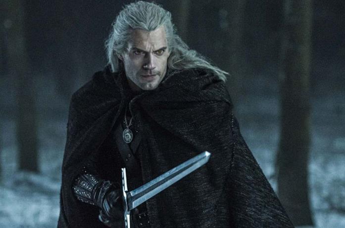 Henry Cavill nella prima stagione di The Witcher