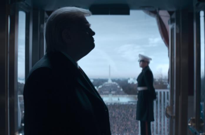 Il profilo del Donald Trump della serie TV The Comey Rule