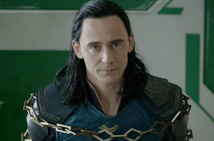 Un'immagine di Tom Hiddleston nei panni di Loki