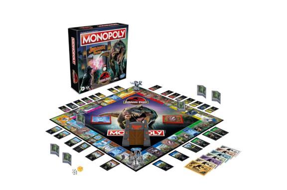Il Monopoli di Jurassic Park è la perfetta unione tra film e gioco da tavolo