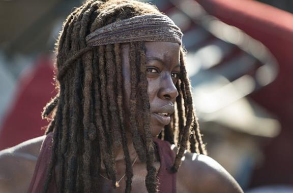 Michonne in The Walking Dead 10