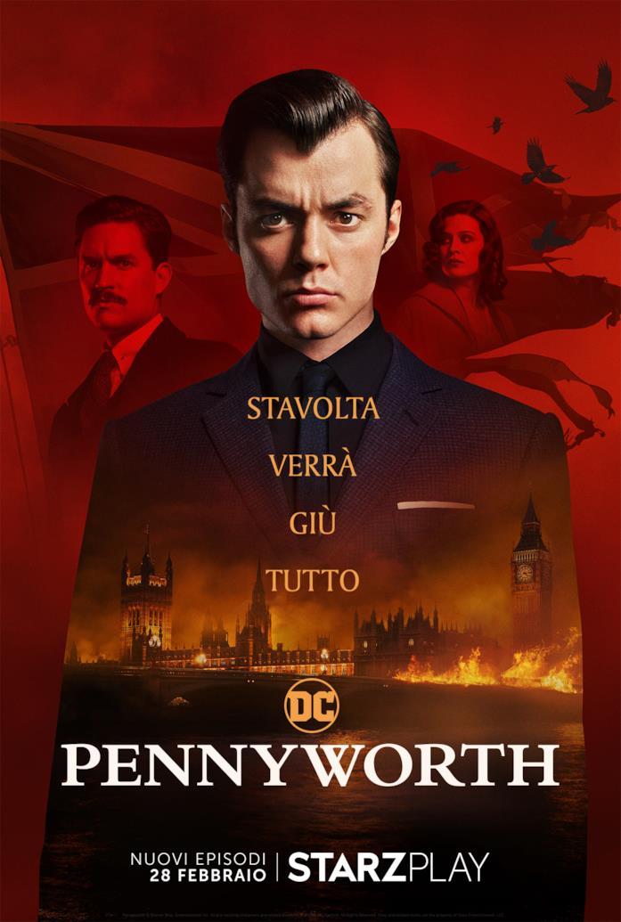Pennyworth, il poster promozionale della seconda stagione