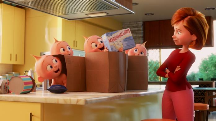 Un'immagine tratta dai corti Disney Pixar