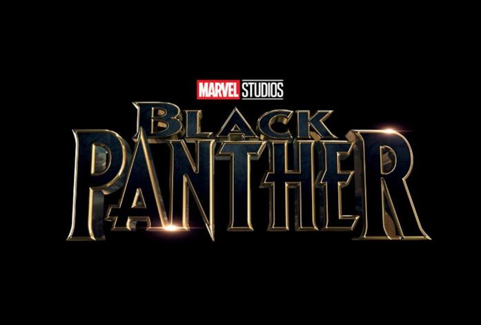 Il logo del film di Black Panther