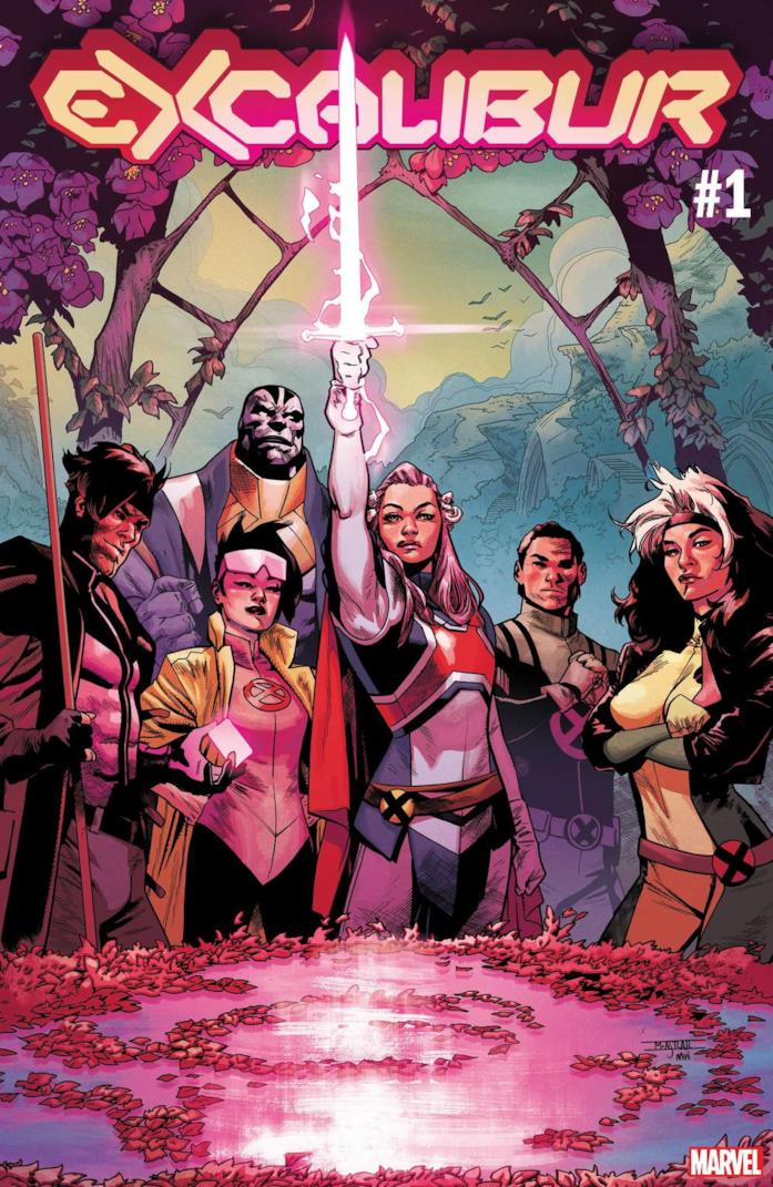 Cover di Excalibur #1