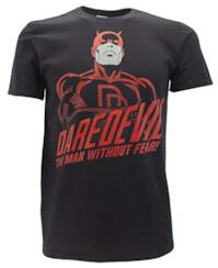 Marvel T-Shirt Daredevil Originale Comics Serie TV The Man Without Fear! (M Adulto)