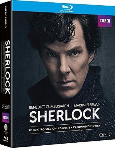 Cofanetto Blu-ray di Sherlock - Stagioni 1-4 + film