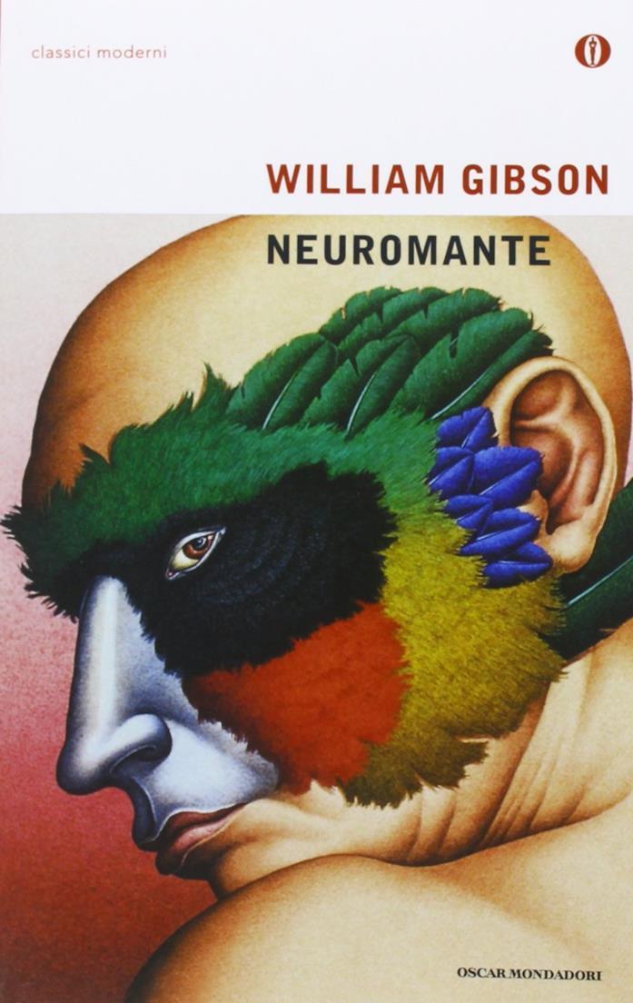 Copertina di Neuromante di William GIbson (1984)