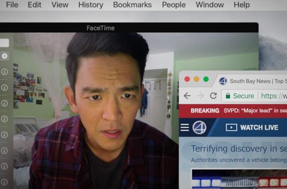 Searching, la recensione: il brivido del thriller corre sui social network