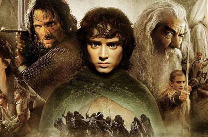 Uno dei poster cinematografici de Il Signore degli Anelli