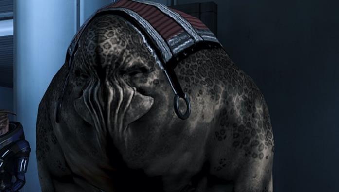 Gli Elcor di Mass Effect legendary Edition