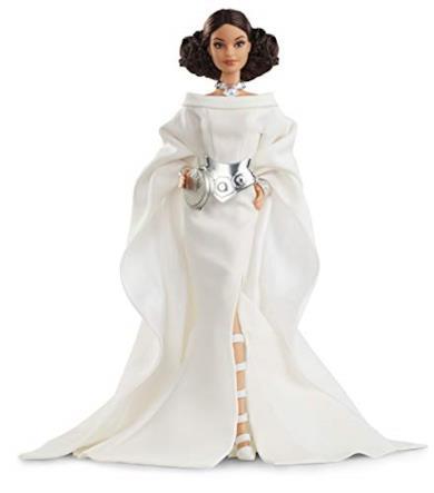 Barbie- Signature Star Wars Principessa Leila Bambola da Collezione per Bambini 6+ Anni, GHT78