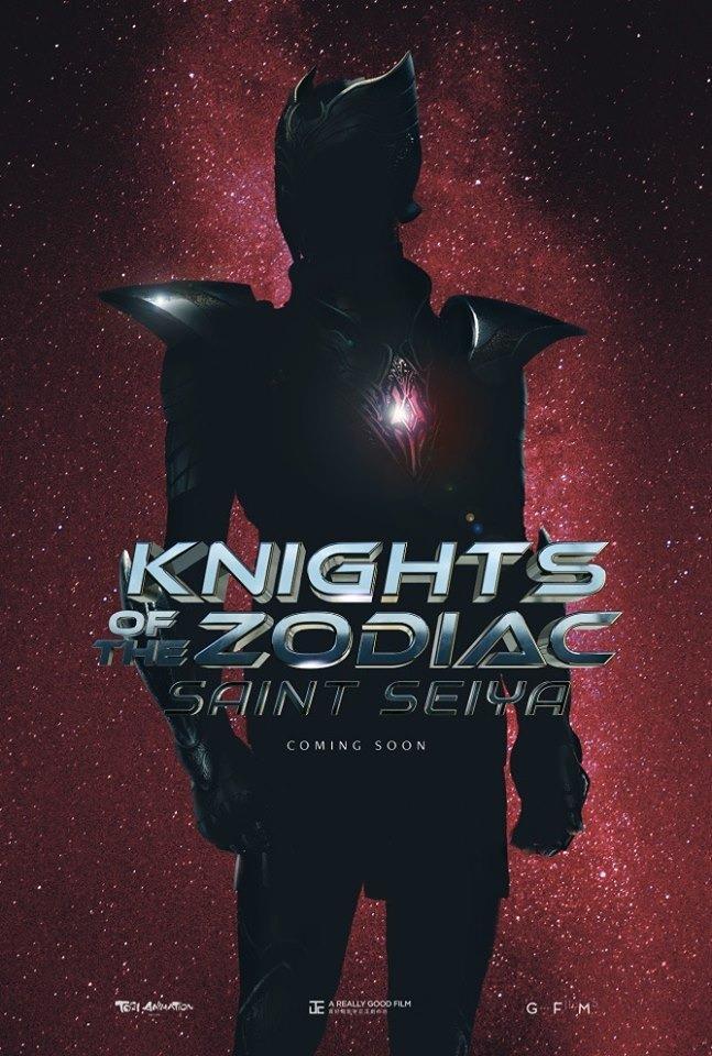 Il poster promozionale di Saint Seiya: Knights of the Zodiac