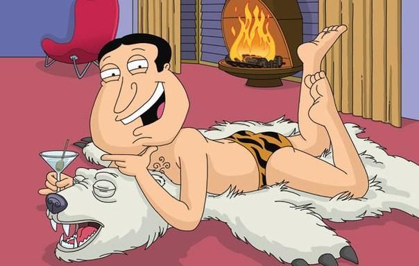 I protagonisti della serie TV Family Guy