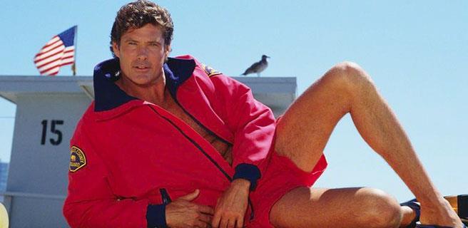 David Hasselhoff in posa