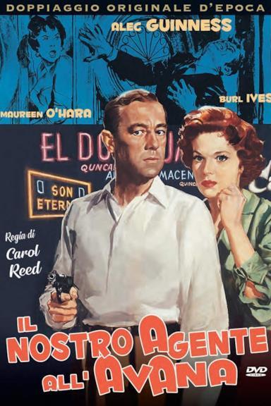 Poster Il nostro agente all'Avana