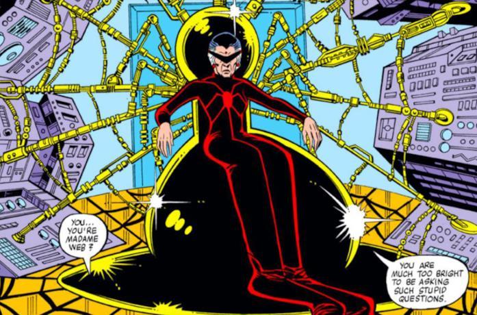 Madame Web nei fumetti