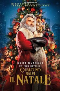 Poster Qualcuno salvi il Natale
