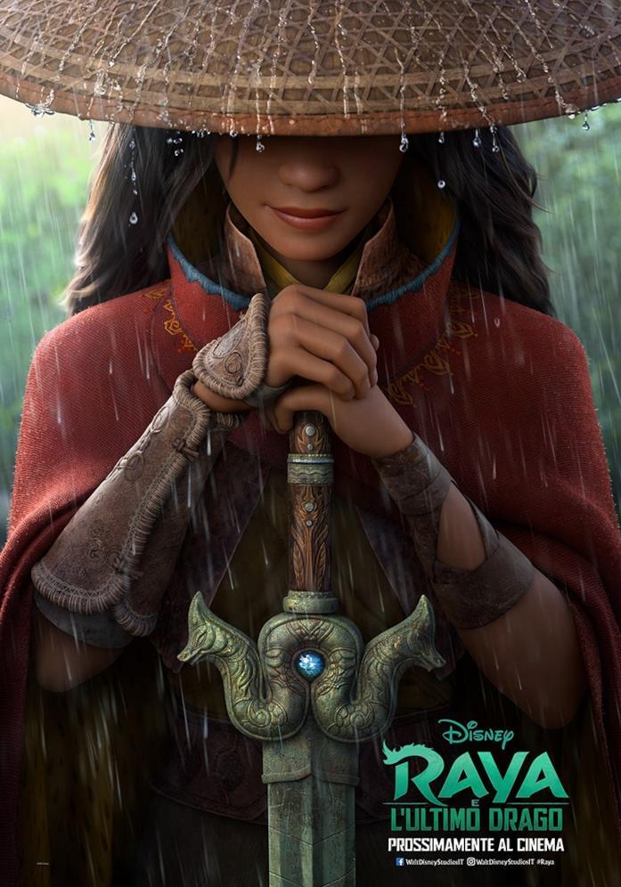 Raya con in mano la spada