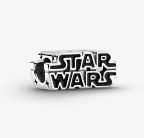 Logo argento della collezione Star Wars x Pandora