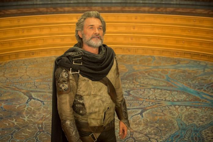 Kurt Russell interpreta l'avatar umano creato da Ego