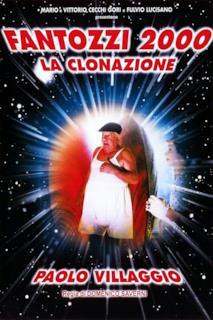 Poster Fantozzi 2000 - La clonazione