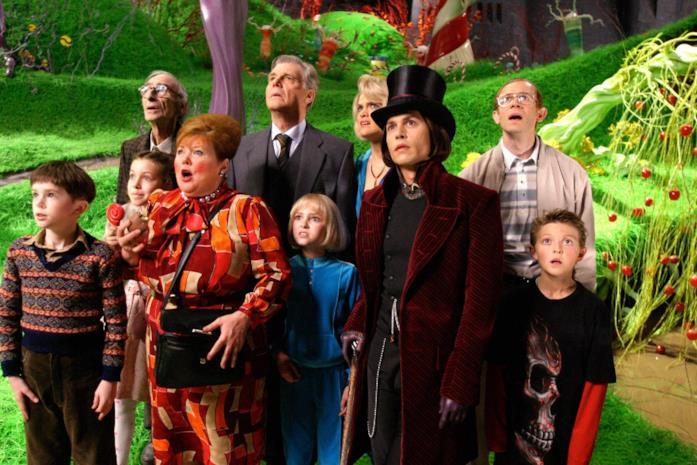 Dentro la fabbrica di cioccolato di Willy Wonka