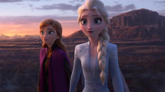 Anna e Elsa in Frozen II