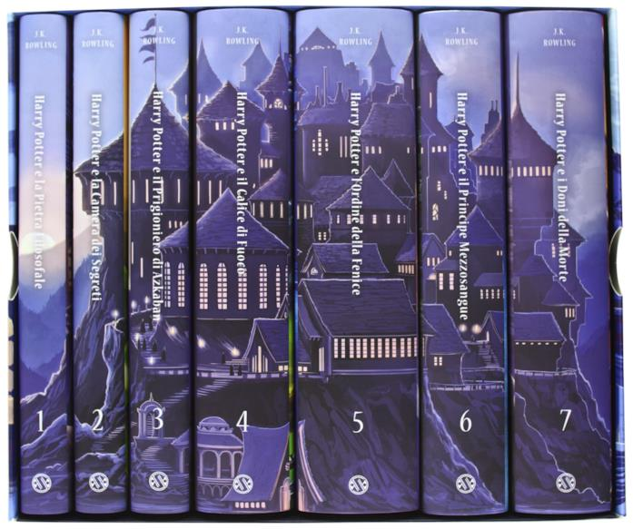 I romanzi di Harry Potter