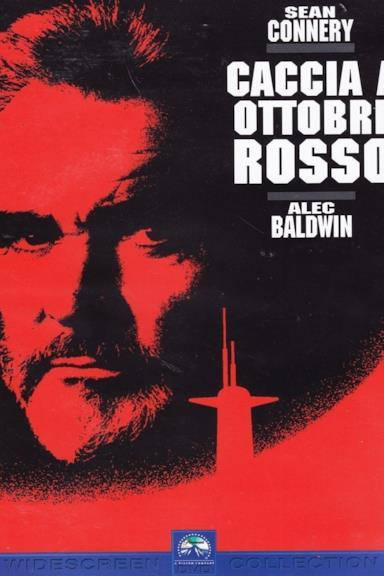 Poster Caccia a Ottobre Rosso