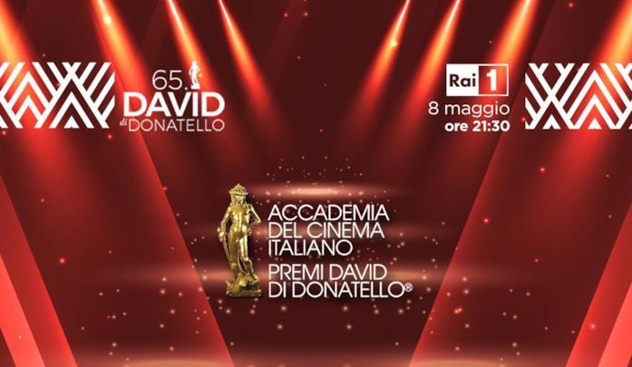 Un'immagine promozionale della cerimonia dei Premi David di Donatello 2020