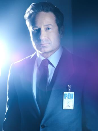 L'agente Fox Mulder, interpretato da David Duchovny