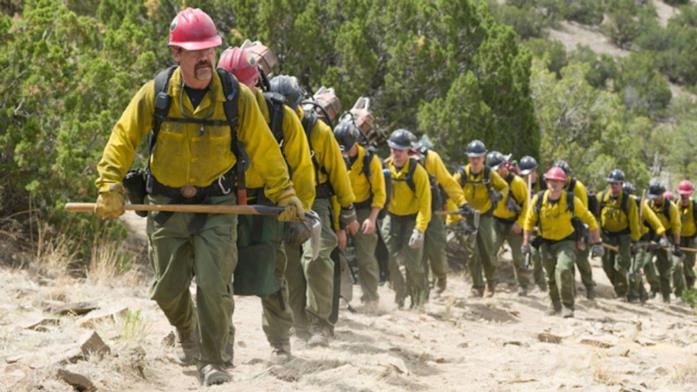 I pompieri della Granite Mountain Hotshots in azione