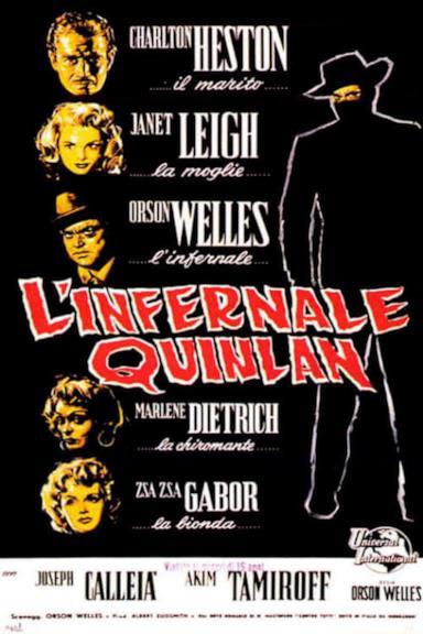 Poster L'infernale Quinlan