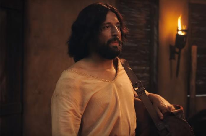 Gesù nello speciale La prima tentazione di Cristo