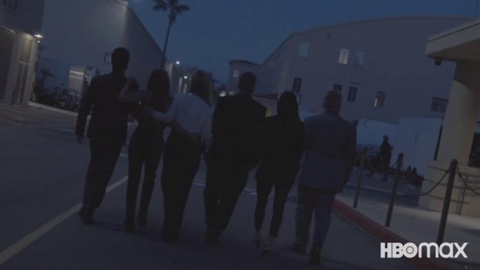Friends: The Reunion, i protagonisti in un'immagine del primo teaser