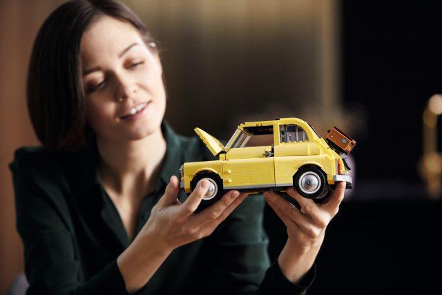 LEGO presenta la Fiat 500 del set Lego Creator Expert