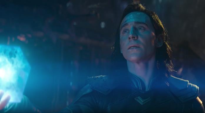 Il Tesseract nelle mani di Loki