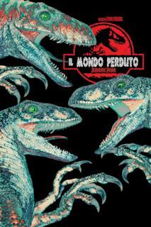 Poster Il mondo perduto - Jurassic Park