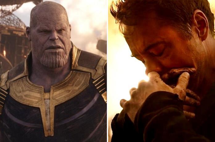 Thanos e Tony Stark