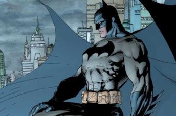 Batman, un'immagine del fumetto