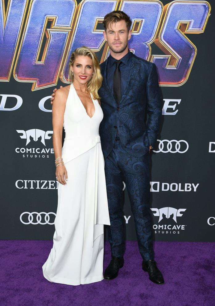 Chris Hemsworth posa per i fotografi alla world première di Avengers: Endgame