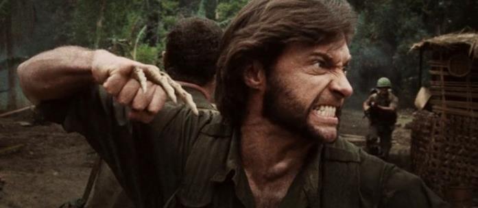 Wolverine con gli artigli in osso