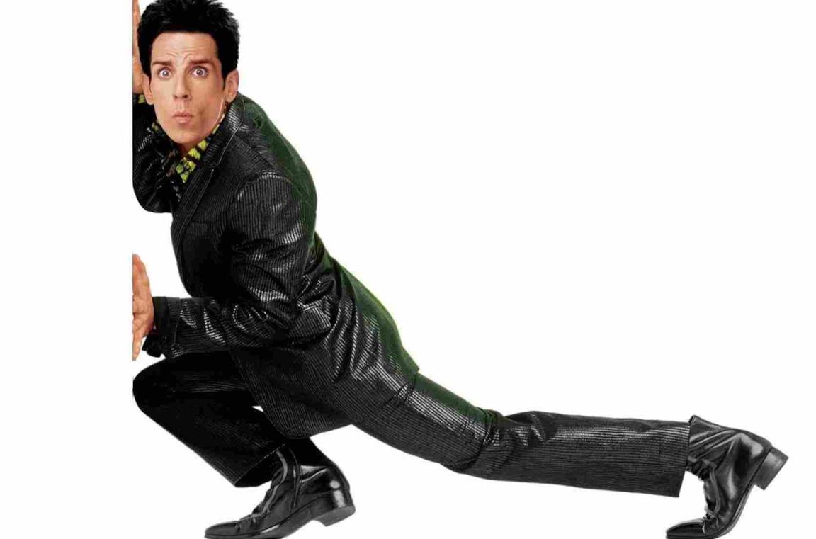Ben Stiller nella locandina di Zoolander