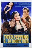 Poster Totò, Peppino e la dolce vita