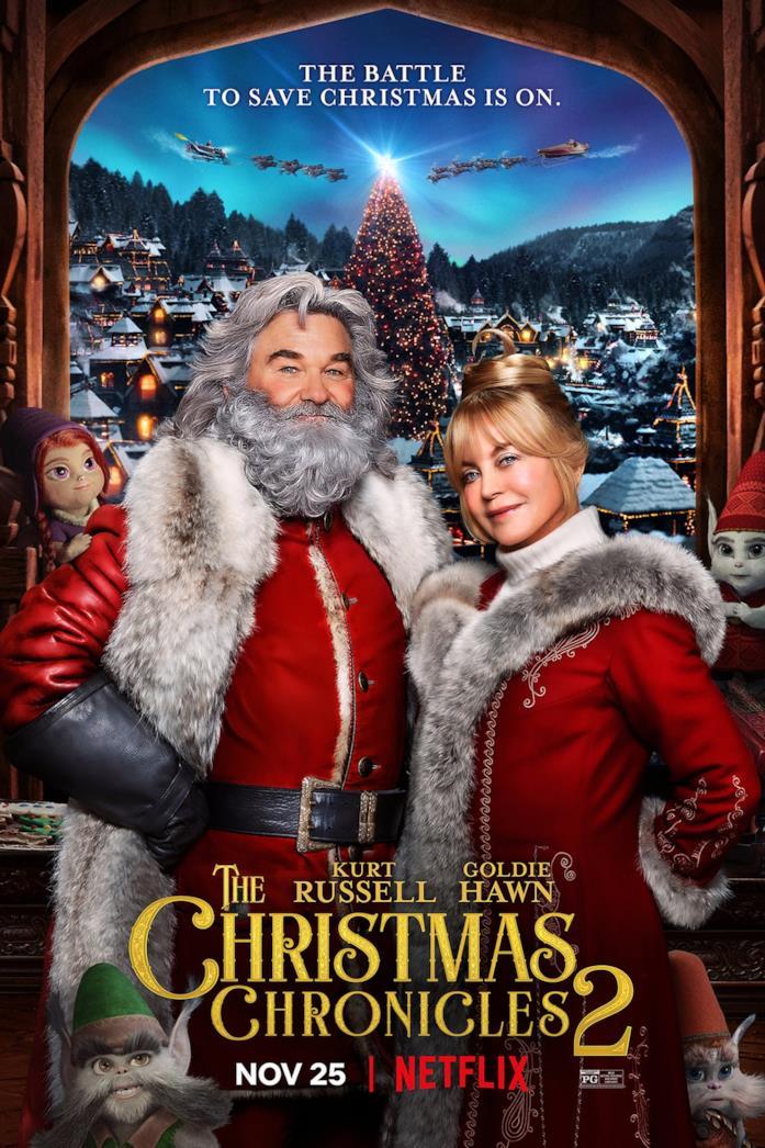 Il poster di Qualcuno salvi il Natale 2