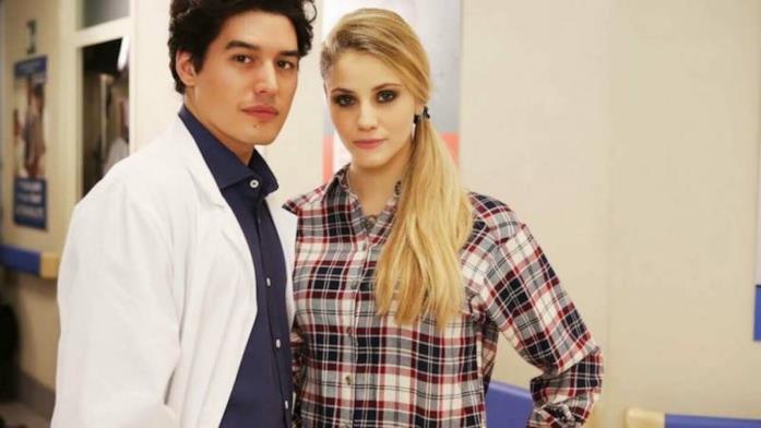 Gabriele e Valentina in Che Dio ci aiuti