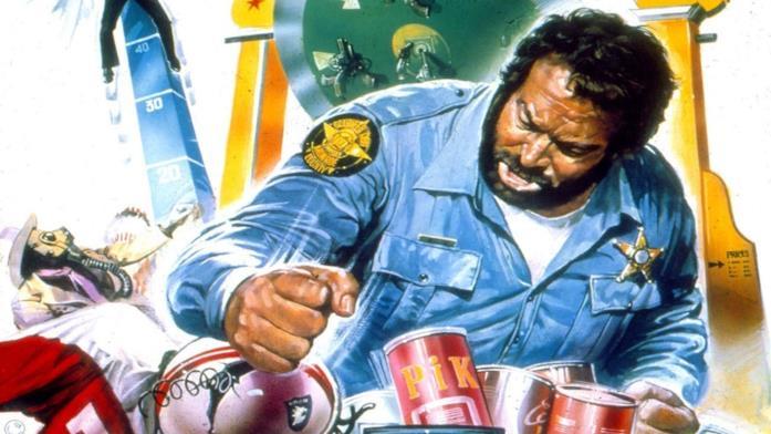 Bud Spencer nel ruolo dello sceriffo